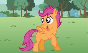 Of Scootaloo and disabilities by Stamps