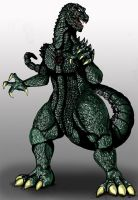 Godzilla Heisei: TKID...1 by Scotwith1T