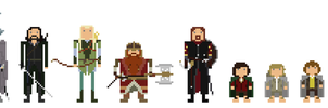 Lord of the Rings: The Fellowship of the Ring by TheRedNightDog