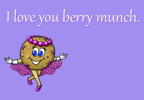 Girl Scout Cookie Cards: Thank-You-Berry-Munch by goldenConnpass