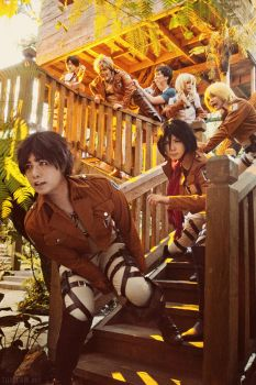 Attack on Titan: Rise and Shine by behindinfinity