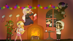 9th Day of Christmas - Putting up decorations by FlickeringFilms
