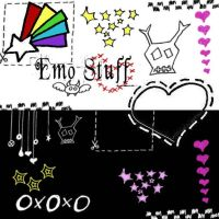 Emo Stuff by Red--Roses