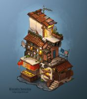 Ghetto house by Sedeptra