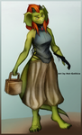 Retsis - New Outfit - Falconer by Hot-Gothics