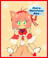 Merry Christmas Amy (human form 2) by MarshmallowsDreams
