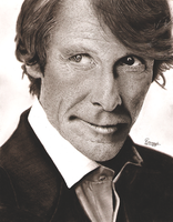 Michael Bay - Graphite and Charcoal by Romeoartist