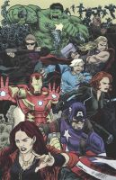 Avengers Age of Ultron by artistjerrybennett