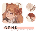 GSNK couples zine preview by MlKO
