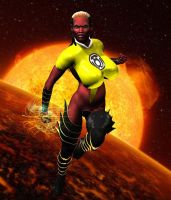 Yellow Lantern Tal'eon by Chup-at-Cabra