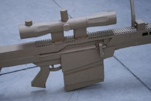Barrett M82A1 Side View by impaler07