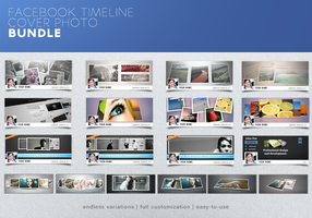 Facebook Timeline Cover Photo Bundle Promo by frozencolor