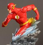 Barry Allen Flash paint1 by BLACKPLAGUE1348