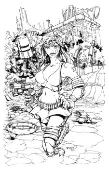 INKS: Aphrodite IX High Res by rantz