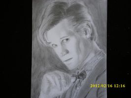 Matt Smith The 11th Doctor by Zero-Cool-23