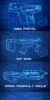 Halo weapons by googlememan