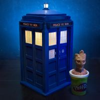 Tiny TARDIS Build - Doctor Who by 13nin