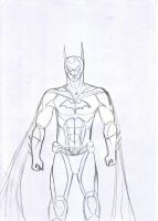 Batman Sketch by simotaku