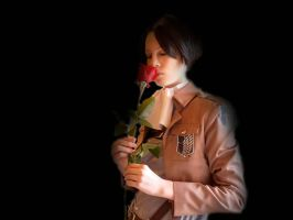 Alone in the dark {Levi Cosplay} by TheCreepyNovice