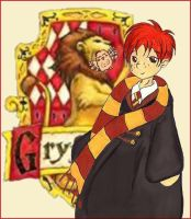 Ron Weasley by beanchan