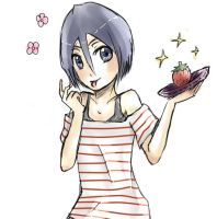 Rukia loves ichigo! by ghostify00