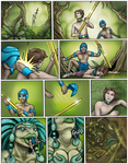 The Lost Golden Staff of The Dragon Queen 77-80 by DragonessLife