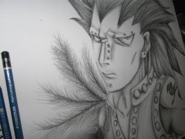 Gajeel (Paper) by LilachSigal