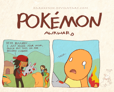 Pokemon Awkward charbone? by DarkKenjie