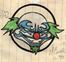 Wicked Clown - Colored by cyb1n