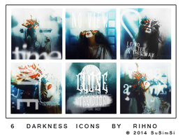 [Icon] 6 Darkness Icon By Rihno by SuSimSi