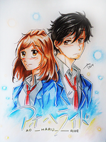 Ao Haru Ride by guto-strife-1