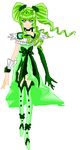 HPC OC - CURE Evergreen by Anime1423