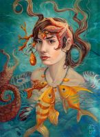Fish Queen by AniaMohrbacher