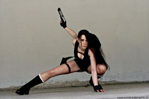 Max as Lara croft-Underworld 4 by MaxChi