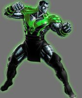 Green Lantern Colossus by Lord-Lycan