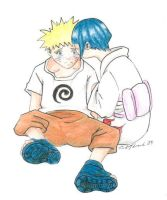 NaruHina when they were young by snowgren