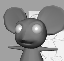 Mouse Character WIP by Kraloth