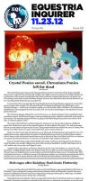 Equestria Inquirer 59 by JoeStevensInc
