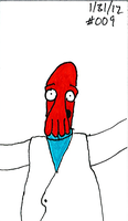 Zoidberg Challenge day 9 by SickSean
