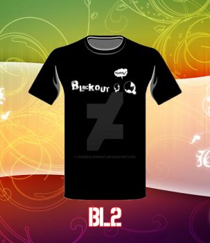 Blackout Design Tee 2... by BonekalifeMust
