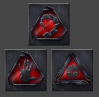 The symbols of Nod by Bioblood