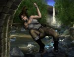 Tomb Raider-Lara Croft Swings by Pixel-Slinger