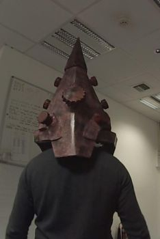 Pyramid Head. Rear View with Side and Rear Bolts by Dax79