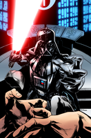 Coloring - Darth Vader Force Choke by andreranulfo