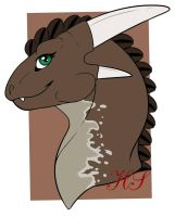Fulgera headshot by Horo by Midnight-Yamikidate
