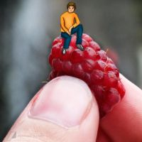 on a raspberry by moslem-d