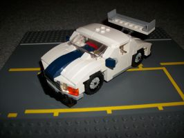 Lego Touring Car by katze316