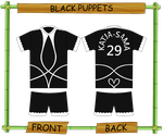 Beach Soccer Project: Team 6: Black Puppets by featherblade2008