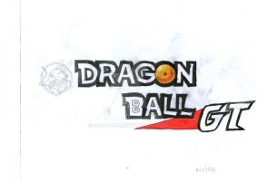 New Dragon Ball GT OFFICIAL logo by CAR-TACO