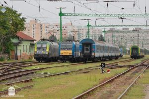 470 504 and 480 013 resting in Gyor by morpheus880223